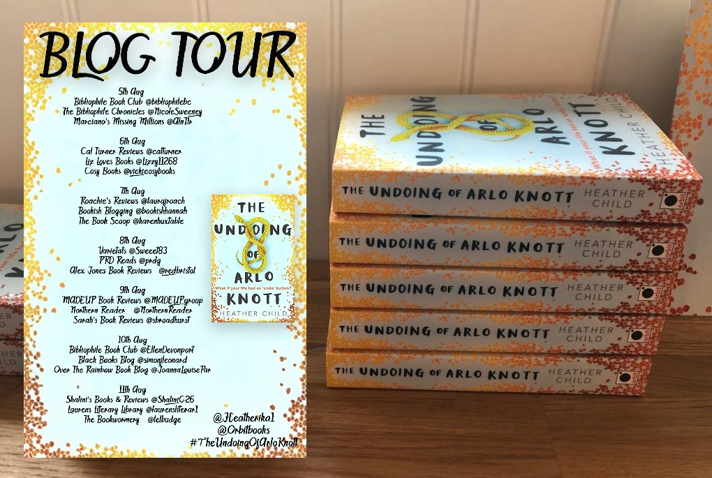 Arlo blog tour